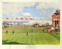 18th Green Royal & Ancient Alcan Golf Tournament 1967