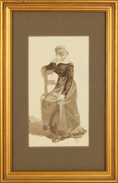 Original French Watercolor