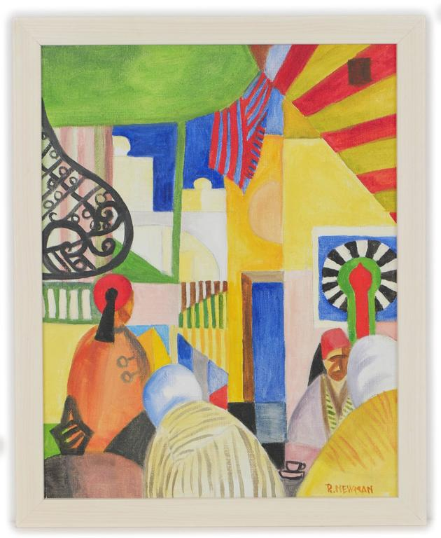 Homage to August Macke #2