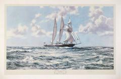 In Full Sail, The Training Ship Sir Winston Churchill