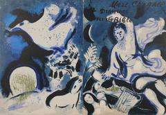 Marc Chagall Cover from Drawings for the Bible