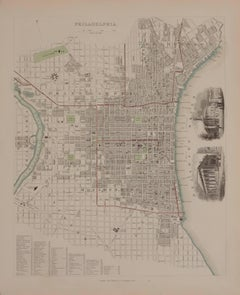 1844 Map of Philadelphia