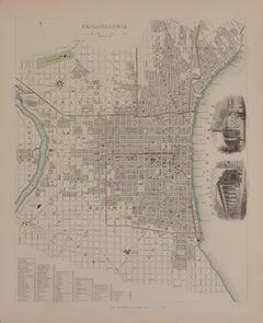 1844 Map of Philadelphia