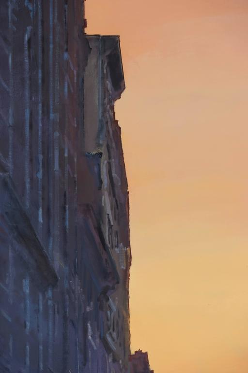 Gotham Blue - Contemporary Painting by Derek Reist