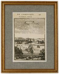 1683 View of St. Augustine Florida