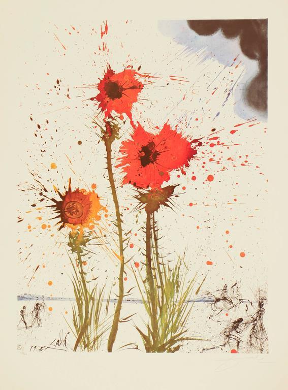 Salvador Dalí - Spring Explosive 1