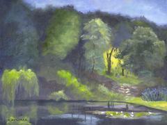 Pond in Rockport, Massachusetts