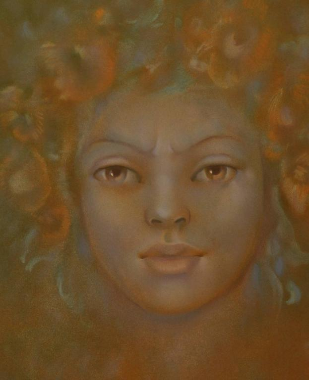 Cyntia - Print by Leonor Fini