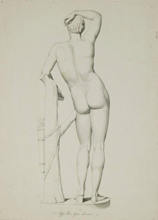 Apollo from Behind - Print by Unknown