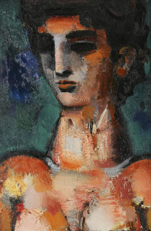 Female Portrait - Painting by Unknown