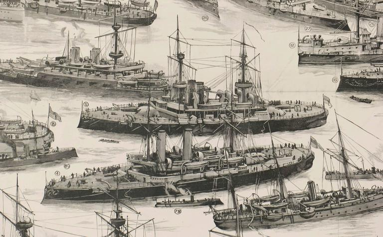 Our First Line of Defence: The Royal Navy - Realist Print by Unknown