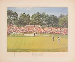 The Masters 1968, Goalby's Final Putt