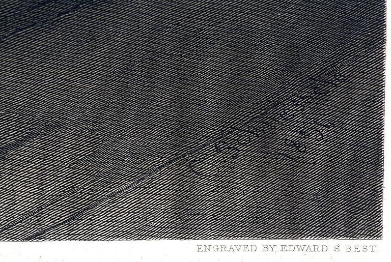 George Washington - Historic Duche Letter - Realist Print by Christian Schussele