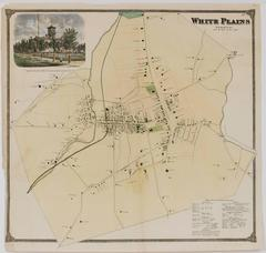 Map of White Plains, New York