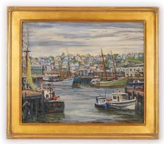Rockport Harbor by Harry Shokler
