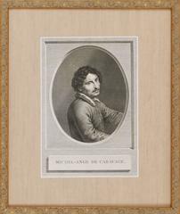 Portrait of Michele Angelo da Caravaggio