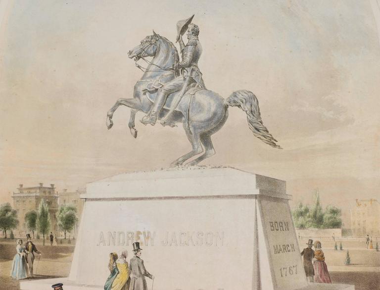 Clark Mills Bronze Statue Of General Andrew Jackson