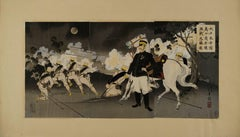 Battle scene from the First Sino=Japanese War