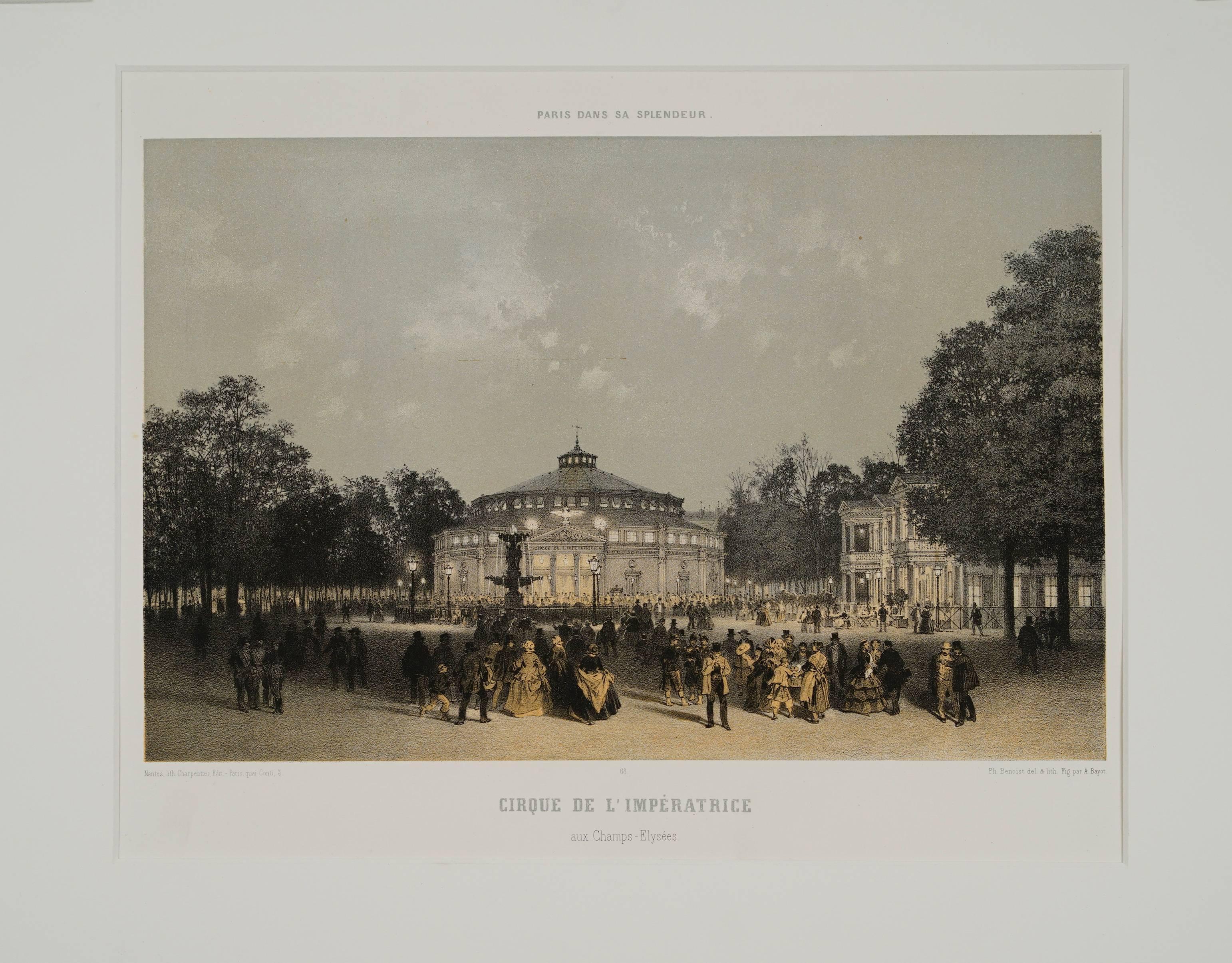 Cirque de l'Imperatrice aux Champs-Elyssees, Paris