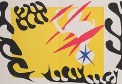 The Last Works of Henri Matisse, Cut-Out with Yellow & Black