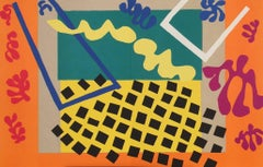 The Last Works of Henri Matisse, Cut-Out with Orange