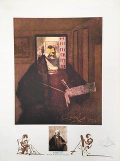 Rembrandt, Portrait du Peintre par lui-meme