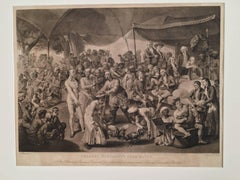 Colonel Mordaunt's  Cock Match, At Lucknow in the Province Oude in the year 1786