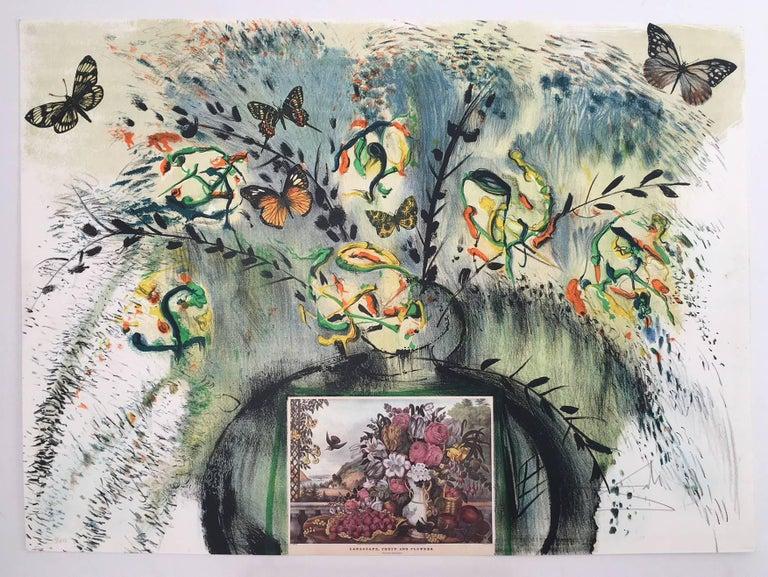 Les Fleurs et Fruits - Print by Salvador Dalí