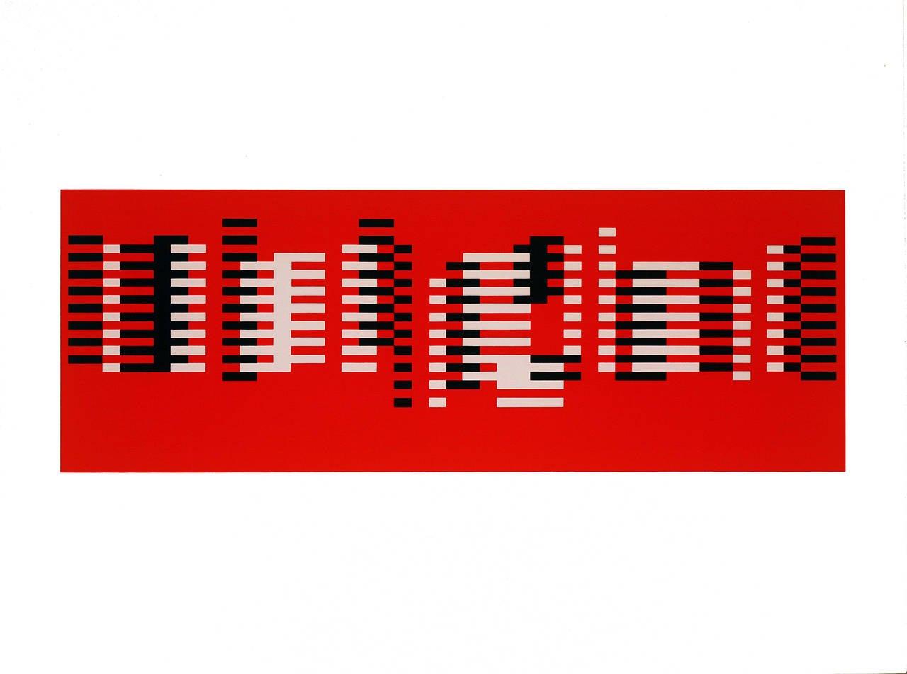 Josef Albers Abstract Print - Articulation : Formulation, Portfolio I Folder 8