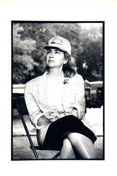 Unknown - Hillary Clinton with Land-O-Lakes Cap