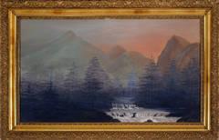 Overcast Mountain Landscape