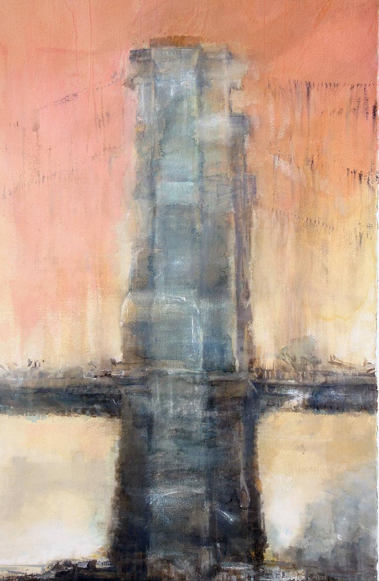 Antonio Masi Sunset Brooklyn Bridge 1 For Sale At 1stdibs