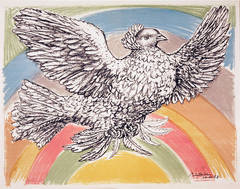The Rainbow Dove of Peace