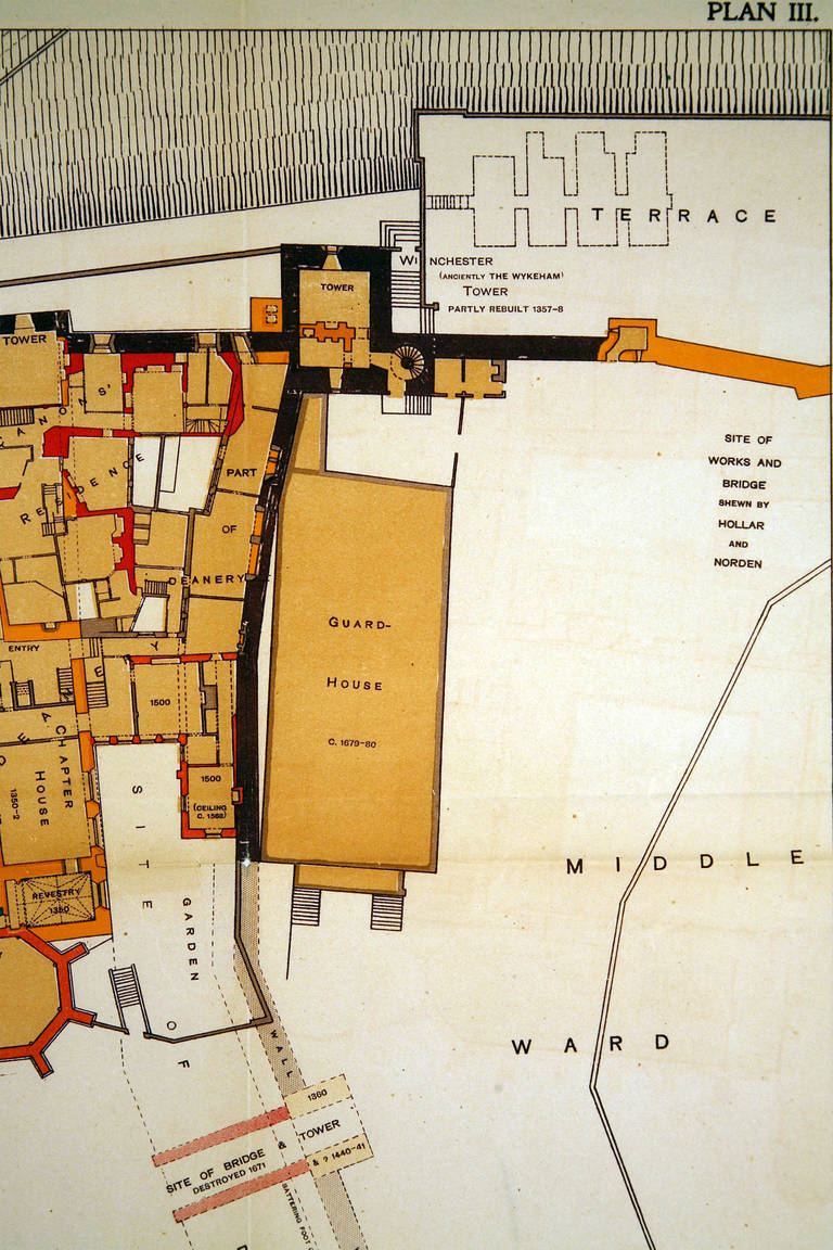 sir w h st john hope windsor castle ground floor plan windsor castle ground floor plans pinterest