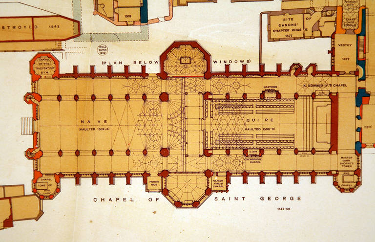 unknown windsor castle ground floor plan by hope at 1stdibs windsor castle floor plan related keywords amp suggestions