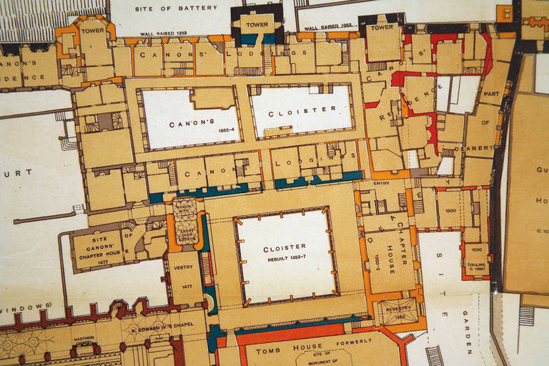 Unknown Windsor Castle Ground Floor Plan By Hope At 1stdibs