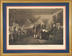 The Signing of the Declaration of Independence, July 4.1776
