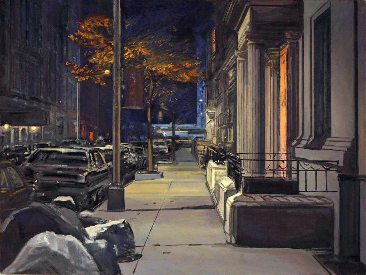 Derek Reist Landscape Painting - Midnight