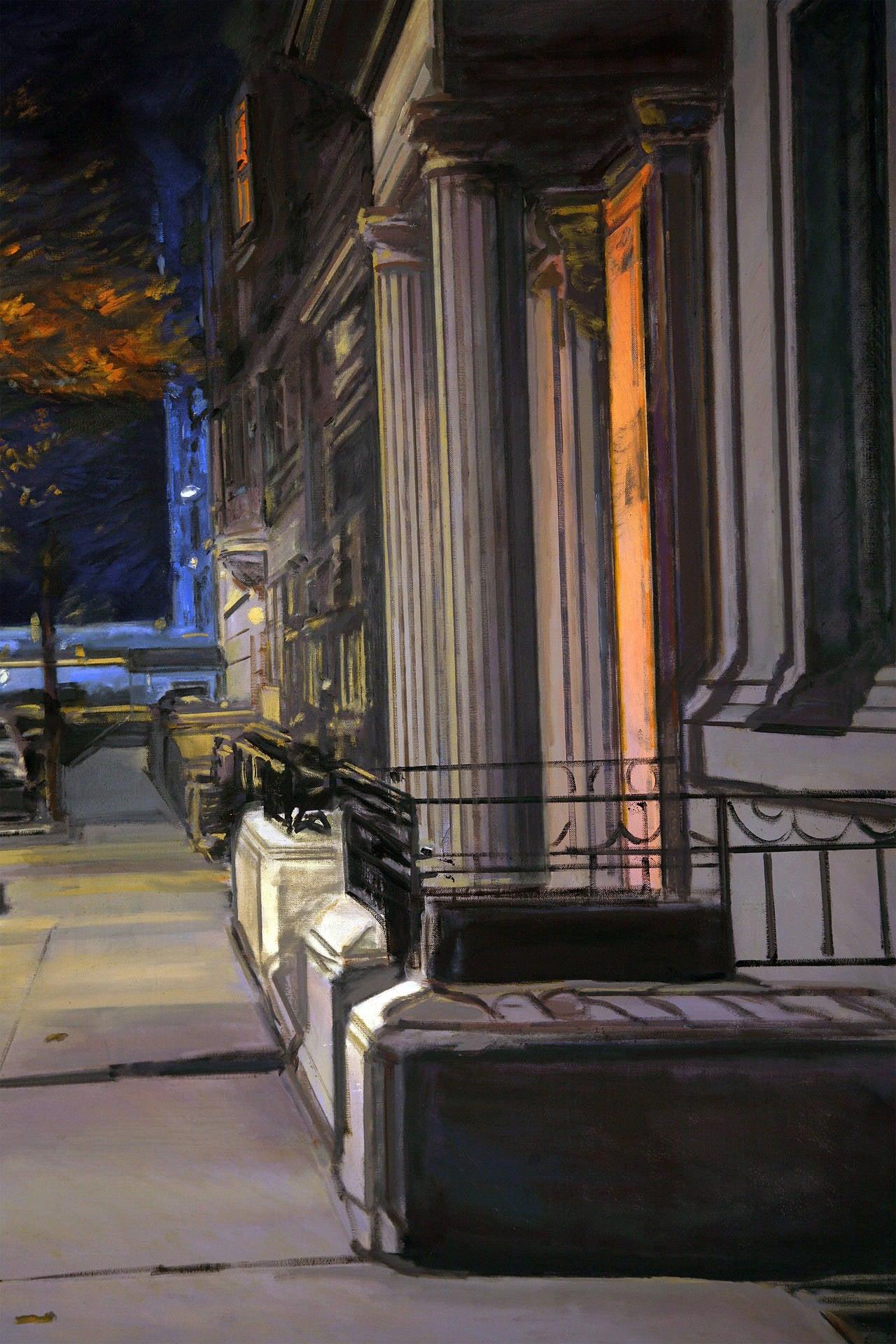 Midnight - Painting by Derek Reist