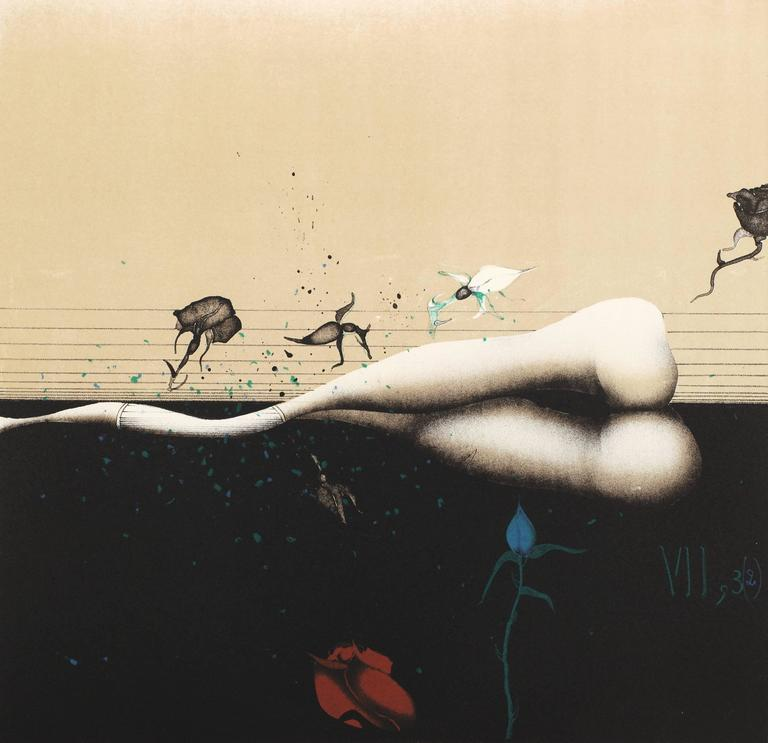 The Song of Solomon  - Print by Paul Wunderlich