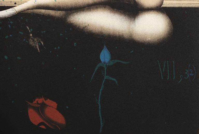 The Song of Solomon  - Surrealist Print by Paul Wunderlich