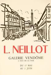 Gallerie Vendome Paris Poster