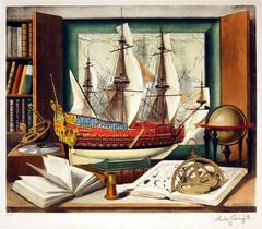 Maritime Still Life with Sexton