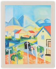 Homage to August Macke #1