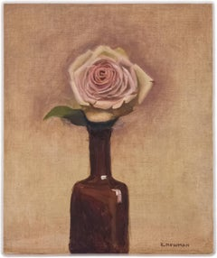 Still Life with Bottle and Rose