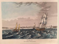 New York: 1835 From the Bay near Bedlows Island