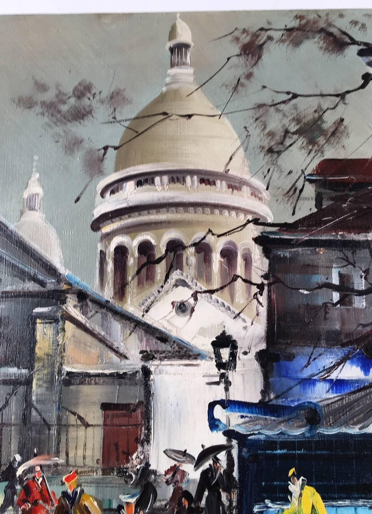 Maurice Legendre was a noted French painter and sculptor, especially known for his Parisian and London landmark scenes.   He was a pupil of Robert Couturier and Marcel Grimond. In 1954, Legendre won the Blumenthal prize and in 1965 he was awarded