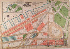 Map showing Yankee Stadium and surrounding neighbood