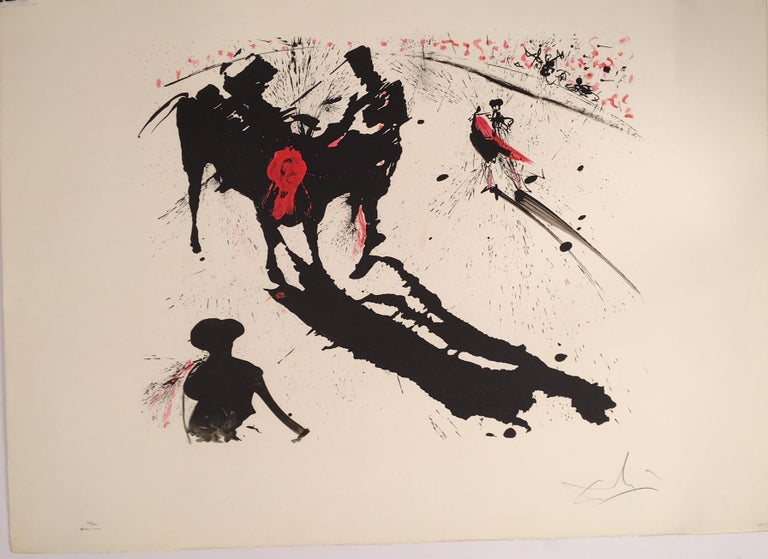 Image result for Goya + Picasso + Dalí and Bullfighting