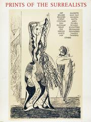 """Exhibit Poster for """"Prints of the Surrealists"""""""